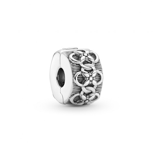 Pandora Clip Charm Blumenmuster - 799351C00