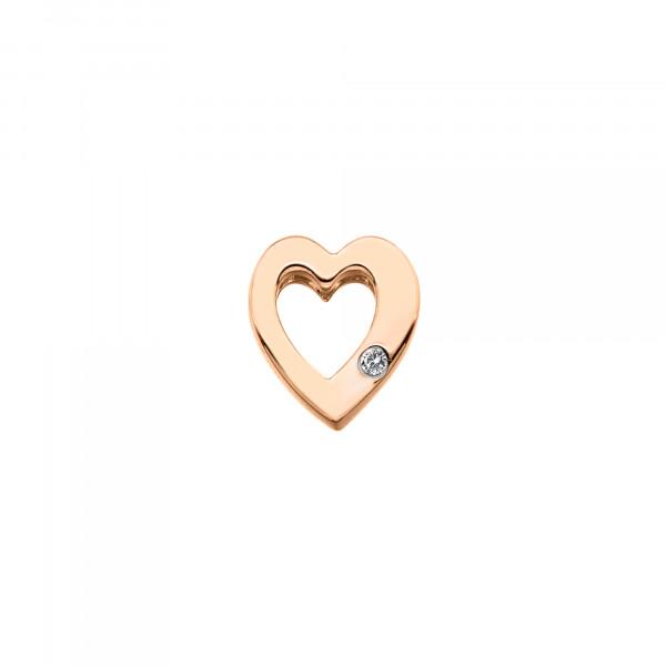 Hot Diamonds Storyteller Anhänger Offenes Herz Rosé