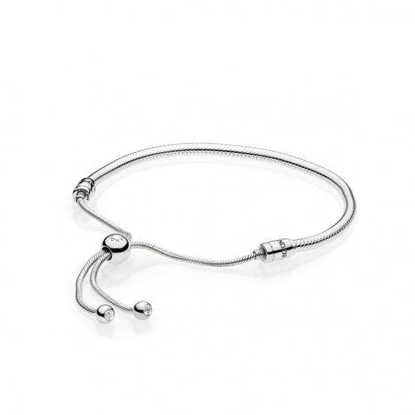 PANDORA Bracelet Chain Moments Silver Sliding - 597125CZ-2
