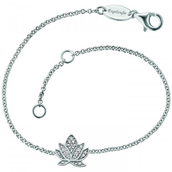 Engelsrufer Armband Lotus Blüte Zirkonia - ERB-LILLOTUS-ZI