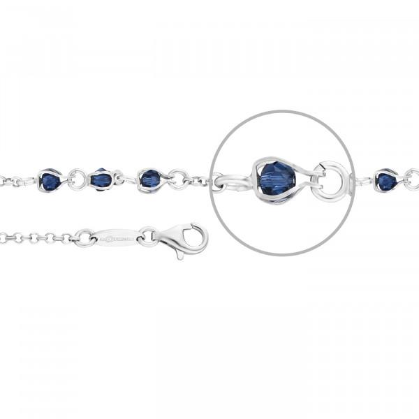 Kettenmacher Quarz Blau Armband - AG2-19S