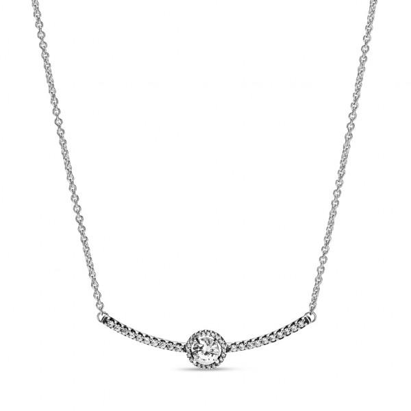 PANDORA Halskette mit Anhänger Rundes Funkeln - 398490C01