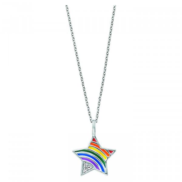 Herzengel Halskette Stern Rainbow - HEN-STAR-RAINBOW