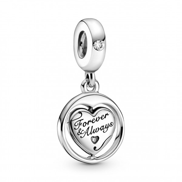 Pandora Charm Forever & Always Soulmate - 799266C01