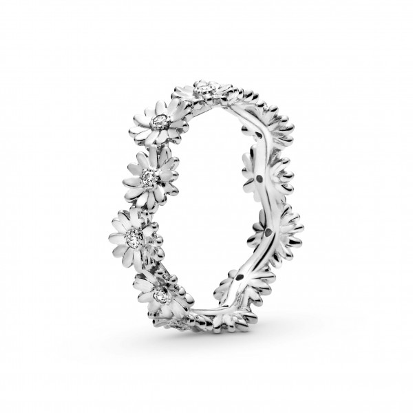 PANDORA Ring Sparkling Daisy Flower Crown - 198799C01-52