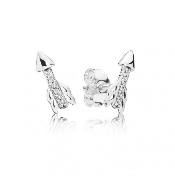 PANDORA Earring studs Sparkling Arrows - 297828CZ