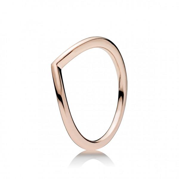PANDORA Rose Ring Stackable Shining Wisch - 186314
