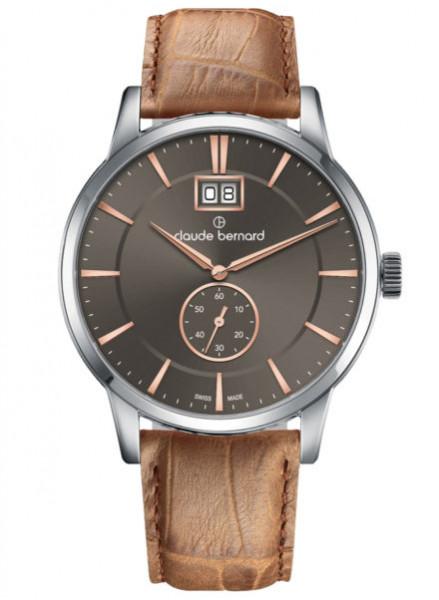Claude Bernard Classic Big Date - 64005-3-GIR3