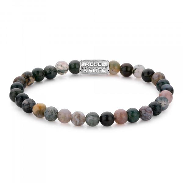 Rebel & Rose Armband Stones Indian Sommer