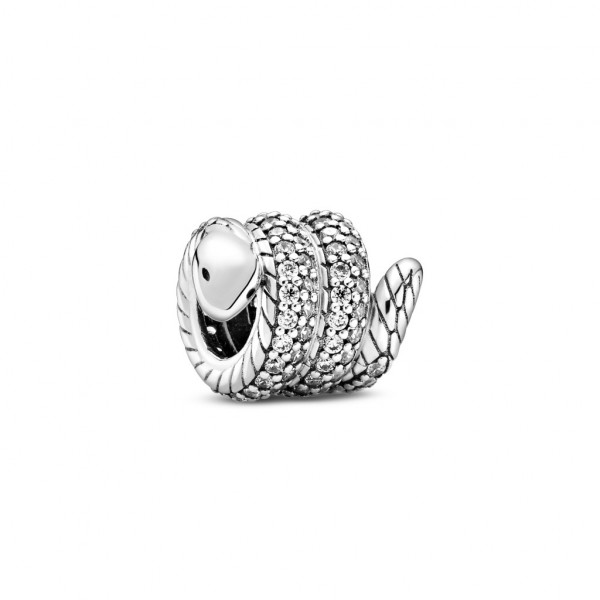 PANDORA Charm Sparkling Wrapped Snake - 799100C01