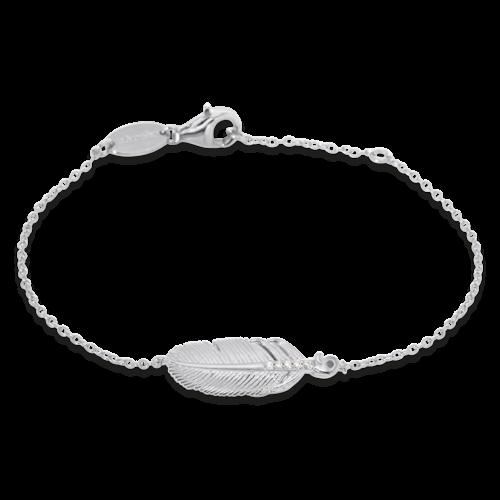 Armband Feder Silber-ERB-LILFEDER-ZI