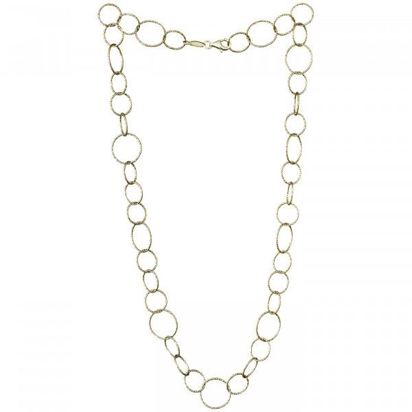 Der Kettenmacher Halskette Ring 1 Gold - RK-G