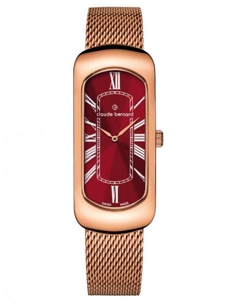 Claude Bernard Damenuhr Dress Code Small Rosé Red - 20227-37RM-ROUR