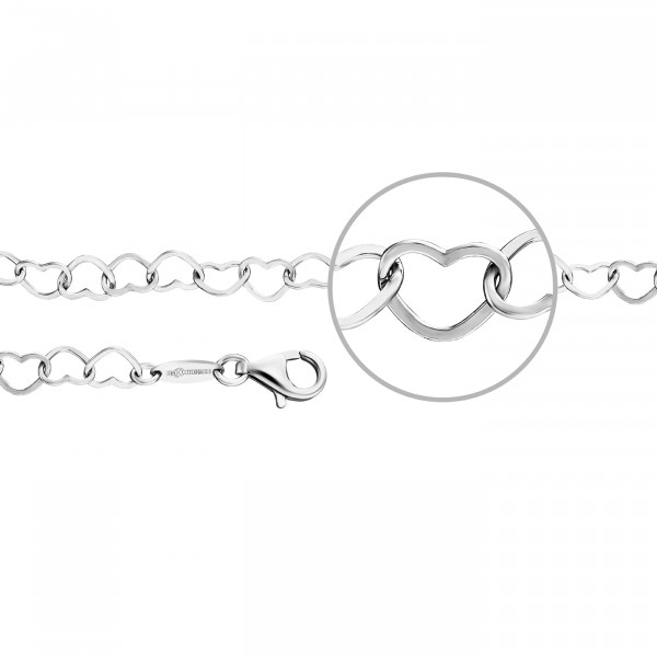 Armband Herzarmband 5,4 mm