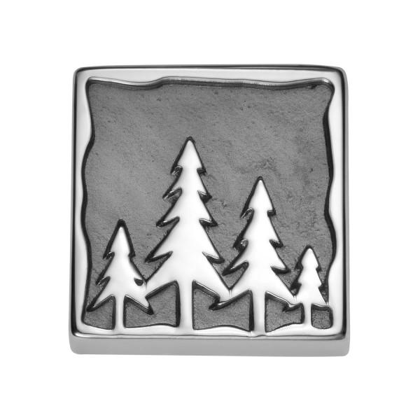 Gexist Swiss Edelweiss Element Tanne Silber - B-9025
