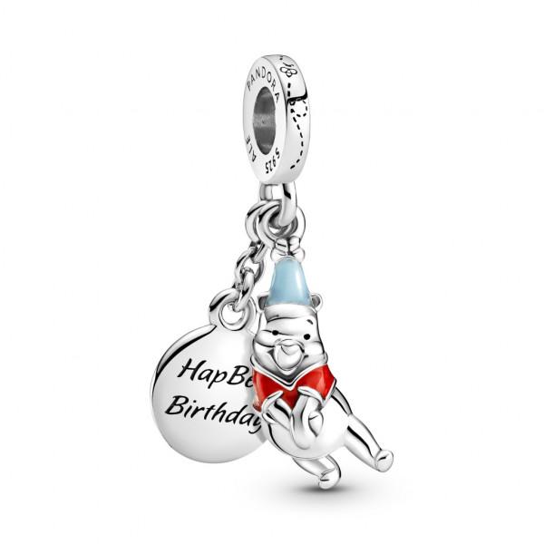 Pandora Disney Charm Anhänger Winnie Puuh Geburtstag - 799385C01
