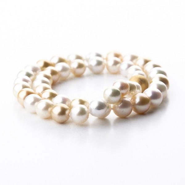 Südsee Perlenkette 12 mm - Perl-100-001