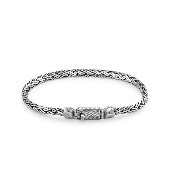 Rebel & Rose Silver Line Hemera Pyramid Bracelet