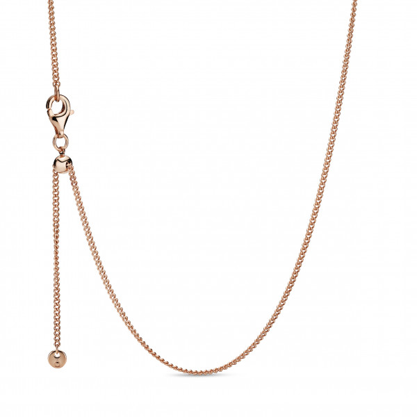 PANDORA Rose Necklace only Curb Chain - 388283-60