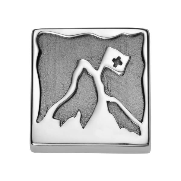 Gexist Swiss Edelweiss Armband Element Berg Silber - B-9023