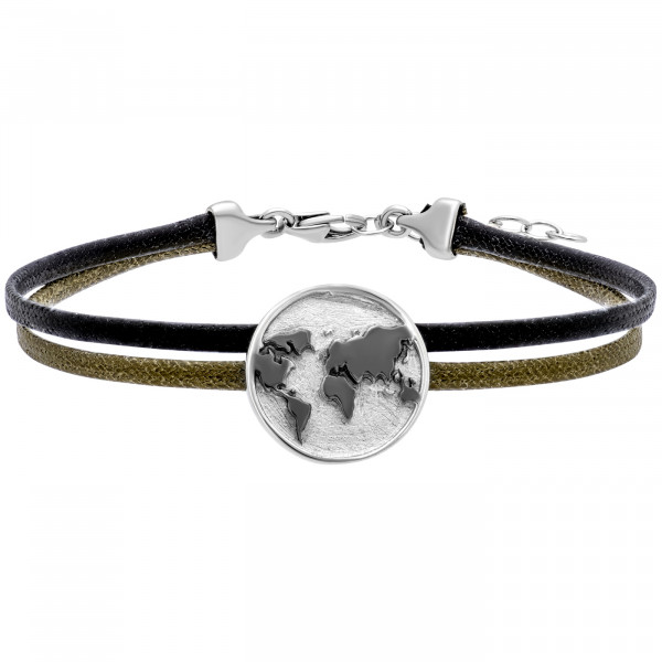 Julie Julsen Lederarmband World - JJBR0705.1