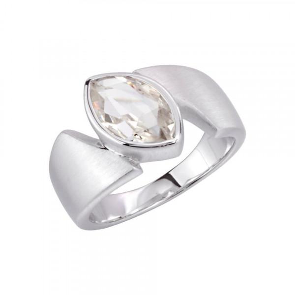 Swiss Rocks Bergkristall Ring Ogive - SR-166