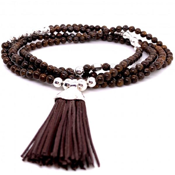 DaShanti Halskette Sober Bronzit - 88-2040-05-1