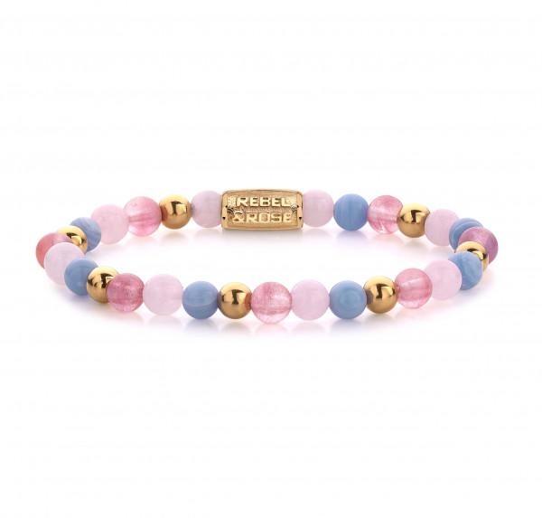 Rebel & Rose Armband Balls Pink Summer Vibes II