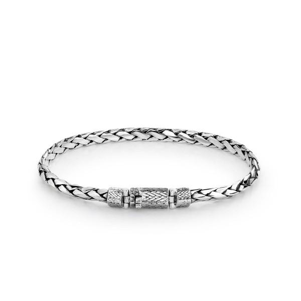 Rebel & Rose Silver Line Hathoer Pyramid Bracelet