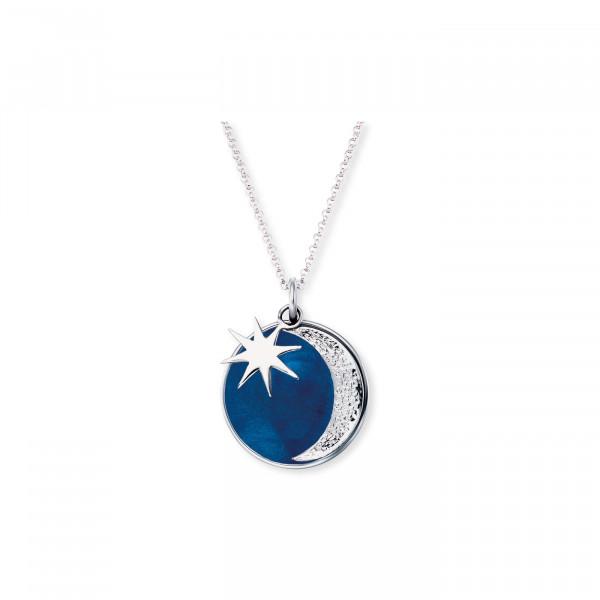 Engelsrufer Halskette Sonne-Mond-Sterne - ERN-MOON-PB