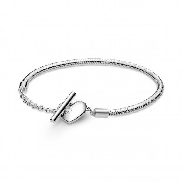 Pandora Armband Herz T-Verschluss - 599285C00