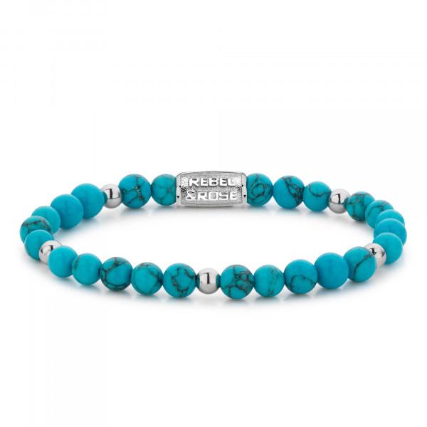 Rebel & Rose Armband Balls Turquoise Delight II
