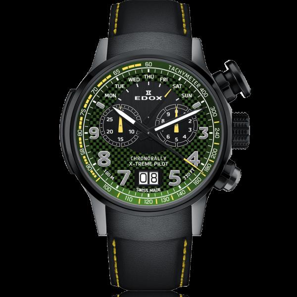Edox Chronorally - X-Treme-Pilot - 38001 TINGN V3