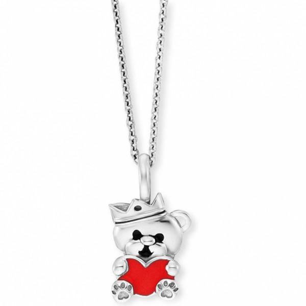 Herzengel Halskette Bärchen mit Herz - HEN-TEDDYLOVE