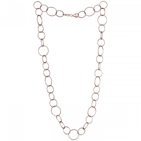 Der Kettenmacher Halskette Ring 1 Rosé - RK-50R