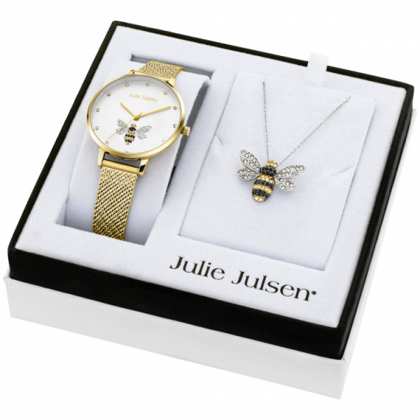 Julie Julsen Damenuhr Bee - JJW1072YGME
