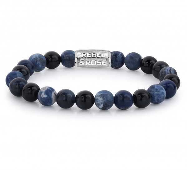 Rebel & Rose Armband Stones Blue Rocks