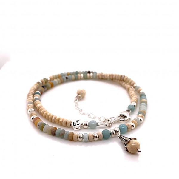 DaShanti Halskette Kindly Amazonit - 88-2053-03-1