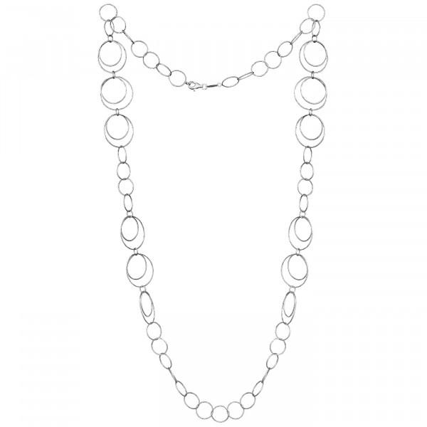 Der Kettenmacher Halskette Ring 3 Silber - RK2-80S