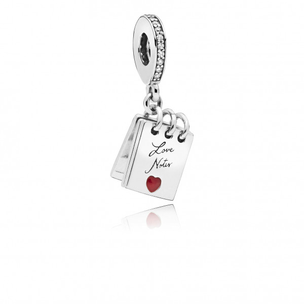 PANDORA Charm dangle Love Notes - 797835CZ