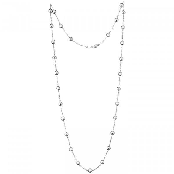 Der Kettenmacher Halskette Kugel Silber - K-70S