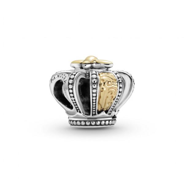 Pandora Charm Zweifarbige Königliche Krone - 799340C00