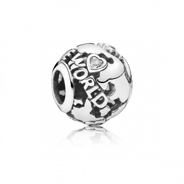 "PANDORA Charm ""Around the world"""