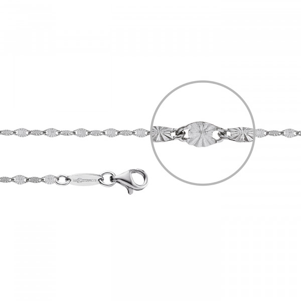Kettenmacher Plättchen-Armband - PL-19S