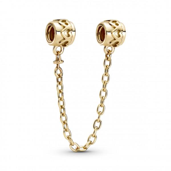 Pandora Gold Komfortkette Herzen - 759519C00-05