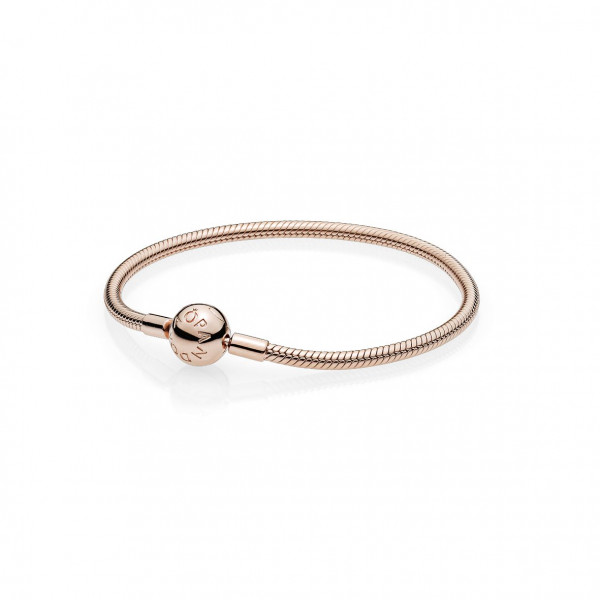 PANDORA Rose Armband mit Kugelverschluss glatt - 580728