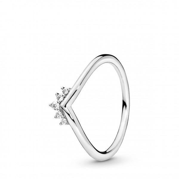 PANDORA Ring Tiara Wishbone - 198282CZ