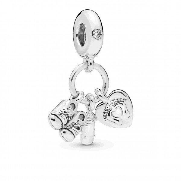 PANDORA Charm dangle My Little Baby - 798106CZ