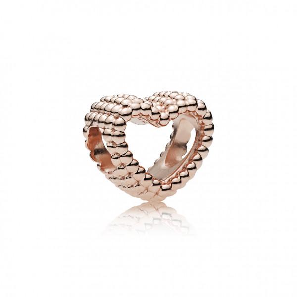 PANDORA Charm Beaded Heart - 787516