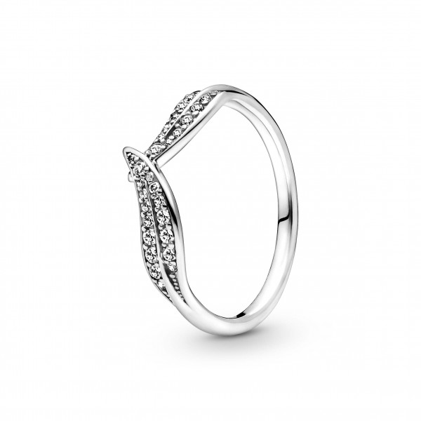 Pandora Ring Moments Funkelnde Blätter 1